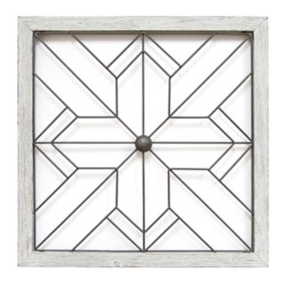 Stratton Home Decor Geometric Art Deco Wall Decor