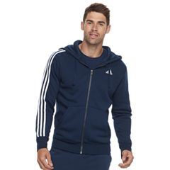 Big & Tall adidas Full-Zip Fleece Hoodie