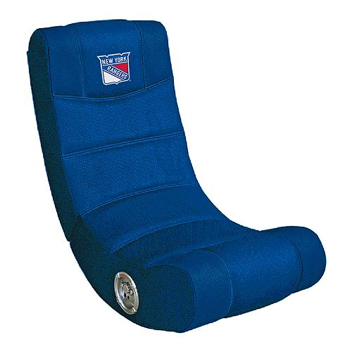 New York Rangers Bluetooth Video Gaming Chair