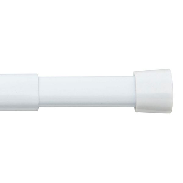Bali Oval Spring Tension Curtain Rod, How To Put Up A Spring Tension Curtain Rod