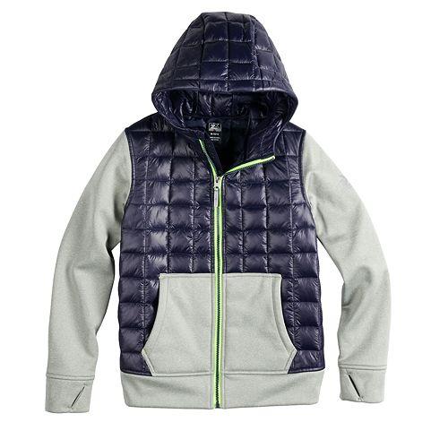 ad51fb28a Boys 8-20 ZeroXposur Snug Hybrid Jacket