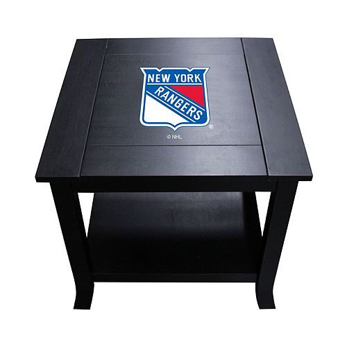 New York Rangers Side Table