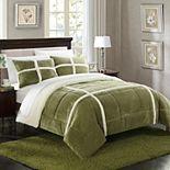 Chloe Sherpa Fleece Comforter Set