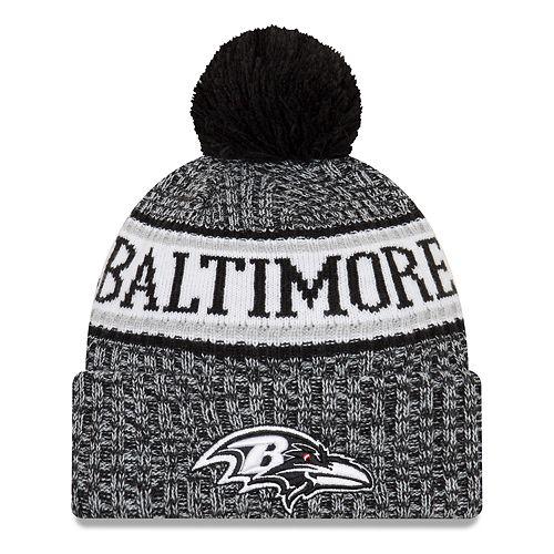 Adult New Era Baltimore Ravens NFL 18 Sport Knit Beanie e168e55bc
