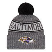 Adult New Era Baltimore Ravens NFL 18 Sport Knit Beanie