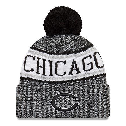 db2a4ddcee1 Adult New Era Chicago Bears NFL 18 Sport Knit Beanie