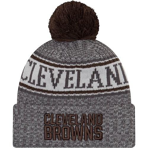 on sale dbf95 96cb6 ... best price adult new era cleveland browns nfl 18 sport knit beanie  e3fa9 4e769