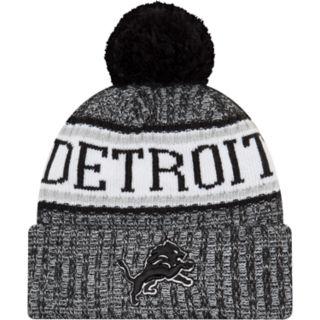 Adult New Era Detroit Lions NFL 18 Sport Knit Beanie