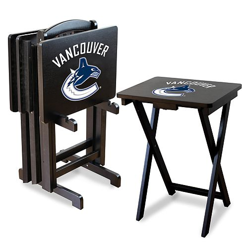 Vancouver Canucks TV Tray with Set