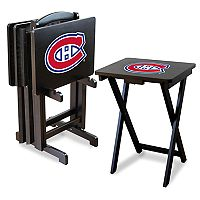 Montreal Canadiens TV Tray with Set