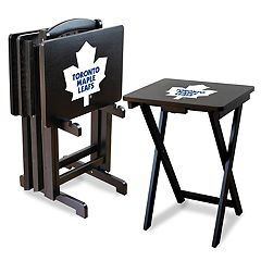 Toronto Maple Leafs TV Tray with Set