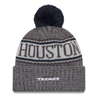 Adult New Era Houston Texans NFL 18 Sport Knit Beanie