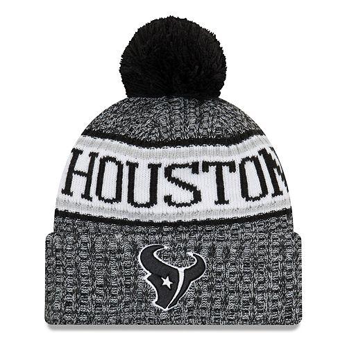 a91eaad5454e2c Adult New Era Houston Texans NFL 18 Sport Knit Beanie