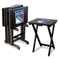 New York Rangers TV Tray with Set