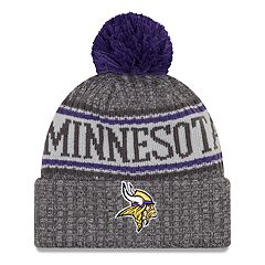 Adult New Era Minnesota Vikings NFL 18 Sport Knit Beanie