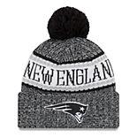 9412a8abc Adult New Era New England Patriots NFL 18 Sport Knit Beanie