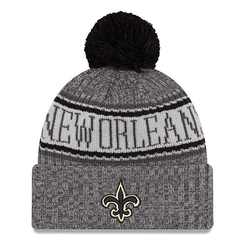 Adult New Era New Orleans Saints NFL 18 Sport Knit Beanie 10d20e24efc