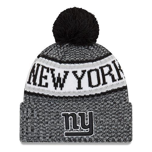 Adult New Era New York Giants NFL 18 Sport Knit Beanie 8113cabdf
