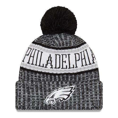 d44e4bb2381df5 Adult New Era Philadelphia Eagles NFL 18 Sport Knit Beanie