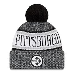 Adult New Era Pittsburgh Steelers NFL 18 Sport Knit Beanie
