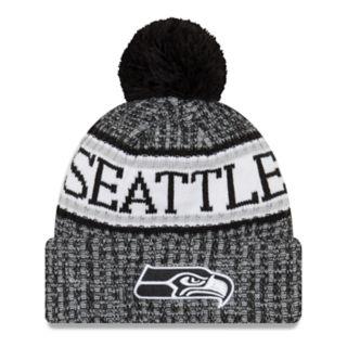 Adult New Era Seattle Seahawks NFL 18 Sport Knit Beanie