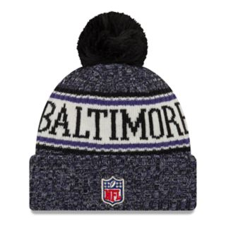 Adult New Era Baltimore Ravens NFL 18 Sport Knit Beanie