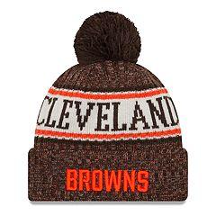 Adult New Era Cleveland Browns NFL 18 Sport Knit Beanie