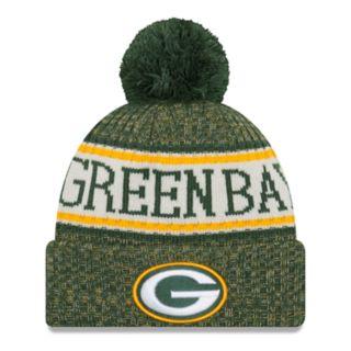 Adult New Era Green Bay Packers NFL 18 Sport Knit Beanie
