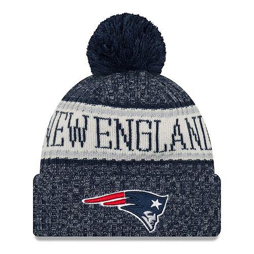 Adult New Era New EnglandPatriots NFL 18 Sport Knit Beanie