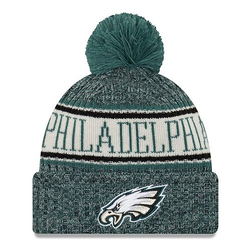 faa69548e5fc1e Adult New Era Philadelphia Eagles NFL 18 Sport Knit Beanie