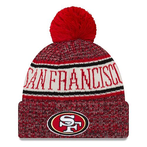 Adult New Era San Francisco 49ers NFL 18 Sport Knit Beanie
