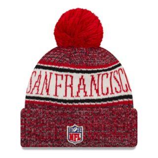 Adult New Era San Francisco 49ers NFL 18 Sport Knit Beanie