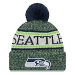 Adult New Era Seattle Seahawks NFL 18 Sport Knit Beanie
