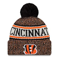 Adult New Era Cincinnati Bengals NFL 18 Sport Knit Beanie