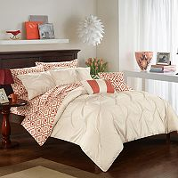 Sabrina 10-piece Comforter Bedding Set