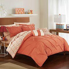 Sabrina 10 pc Comforter Bedding Set