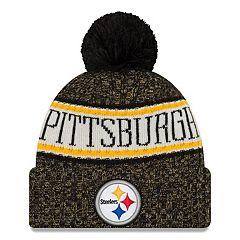 Adult New Era Pittsburgh Steelers NFL 18 Sport Knit Beanie