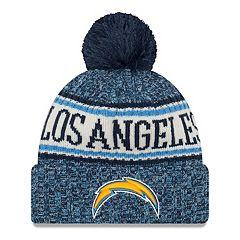Adult New Era Los AngelesChargers NFL 18 Sport Knit Beanie