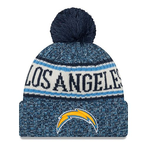2d82fcf24 Adult New Era Los Angeles Chargers NFL 18 Sport Knit Beanie