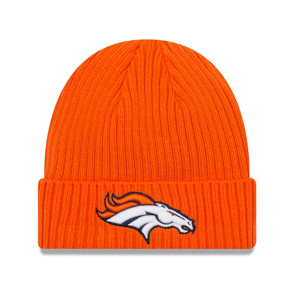 Adult New Era Denver Broncos Core Classic Knit Beanie