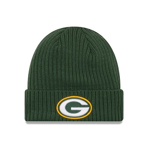 4a281cc8 Adult New Era Green Bay Packers Core Classic Knit Beanie