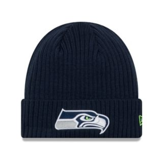 Adult New Era Seattle Seahawks Core Classic Knit Beanie