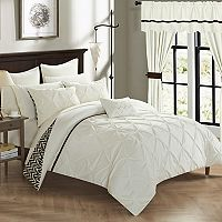 Jacksonville 20-piece Bedding & Window Curtain Set