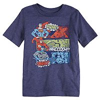 Boys 4-10 Jumping Beans® Super-Man, The Flash & Batman Justice League Graphic Tee