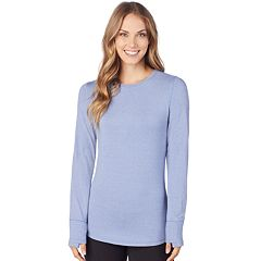 Women's Cuddl Duds Smooth Layer Crewneck Top