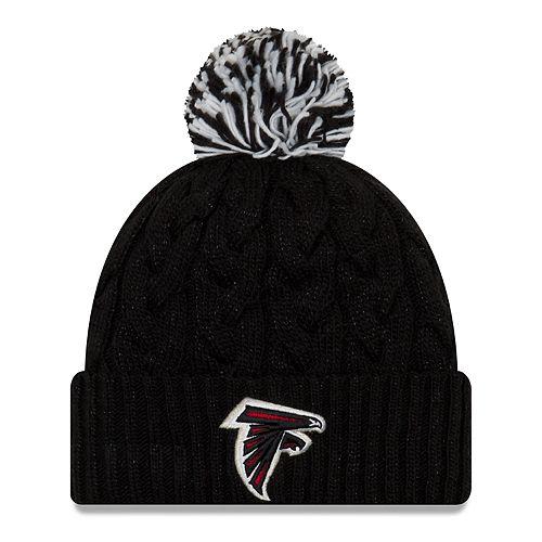 Adult New Era Atlanta Falcons Cable Knit Beanie