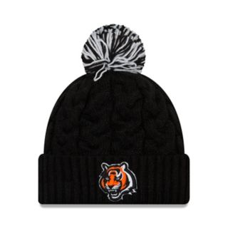 Adult New Era Cincinnati Bengals Cable Knit Beanie