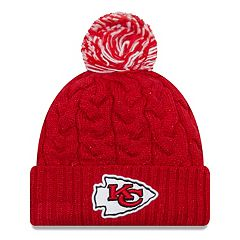 Adult New Era Kansas City Chiefs Cable Knit Beanie