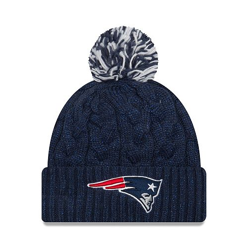 Adult New Era New England Patriots Cable Knit Beanie cec13b114