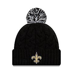Adult New Era New Orleans Saints Cable Knit Beanie